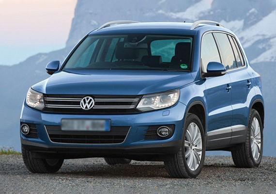 Взять в аренду Volkswagen Tiguan I рестайлинг (2013) в Симферополе